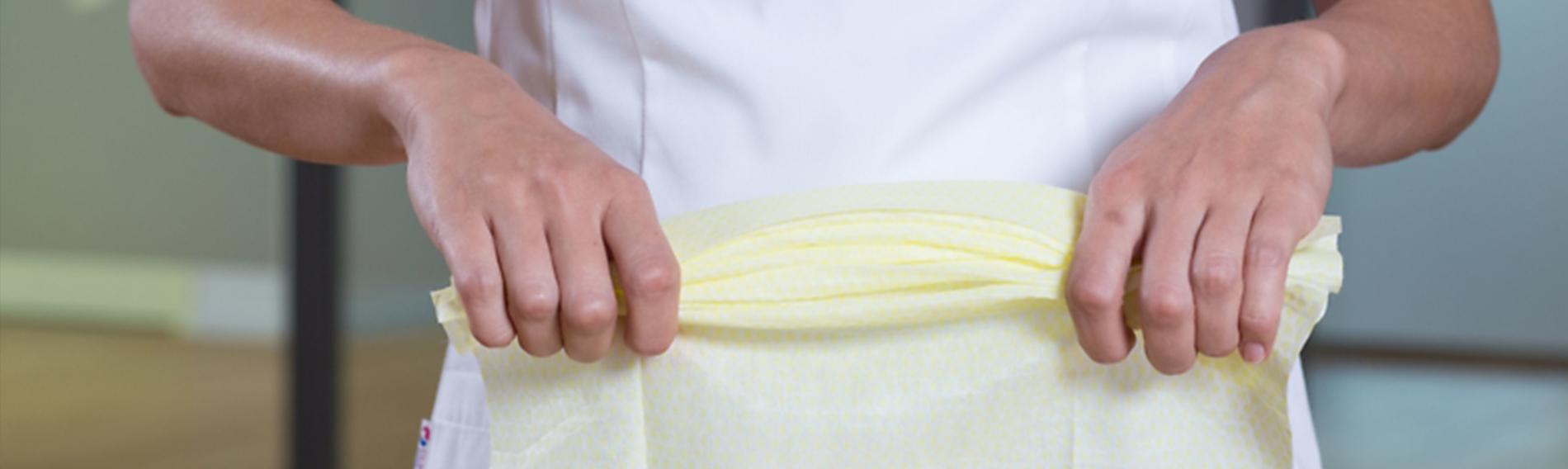 Dust Cloth Folding Technique